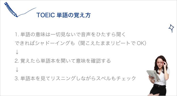 TOEIC英語の覚え方